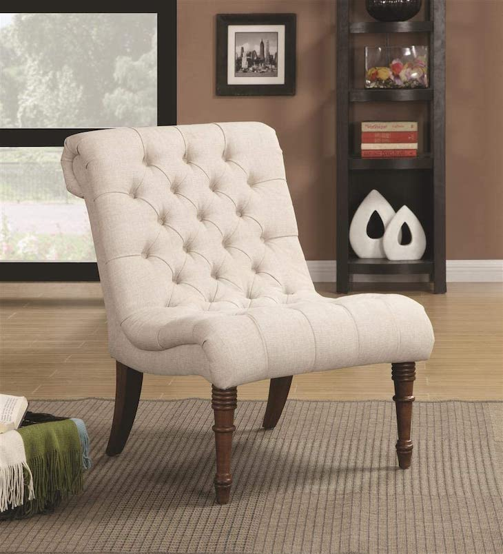 Coaster Home Furnishings armless chair