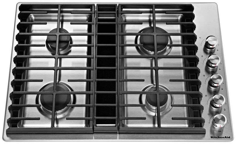 KitchenAid 30 Gas Downdraft Cooktop