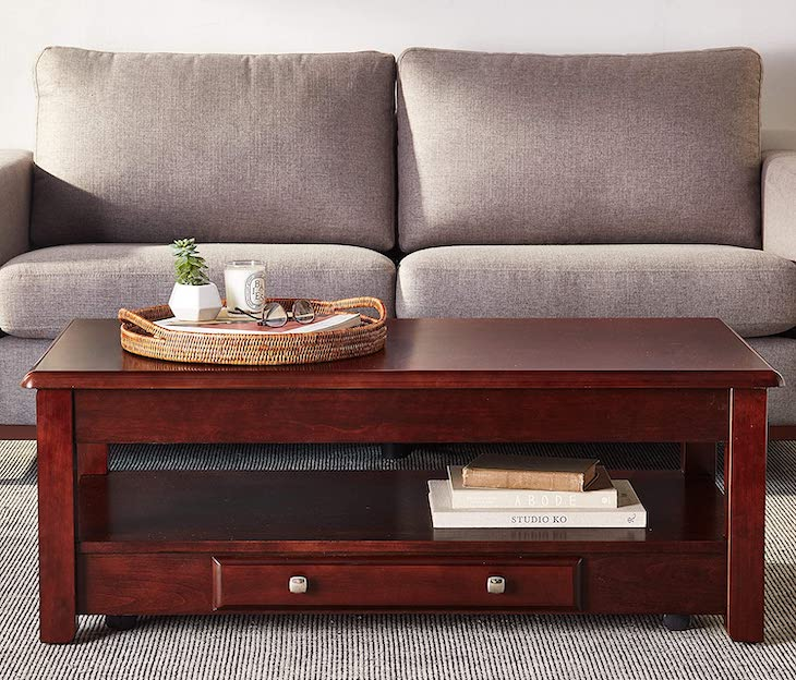 Logan Cherry coffee table