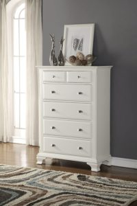 Roundhill Furniture Laveno 5 drawers