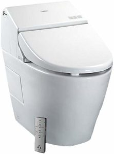Toto washlet integrated toilet