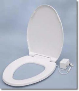 UltraTouch heated toilet seat