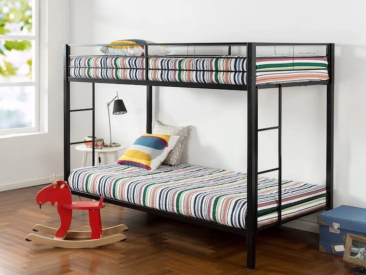 Zinus Aileene metal bunk bed