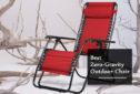 Best Zero Gravity Outdoor Chair 2020