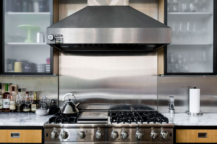 Gas Cooktop With Downdraft