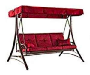BLOSSOMZ Outdoor Porch Swing